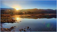 Sunrise Llyn Dinas