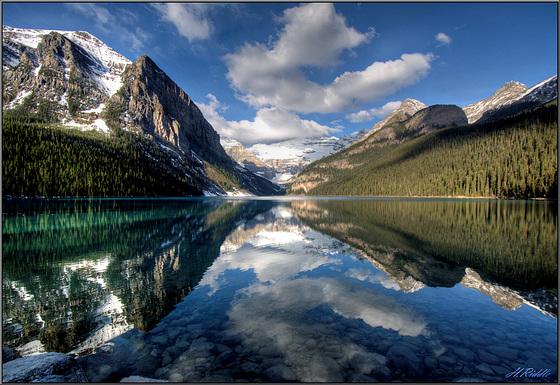 Lake Louise glory.