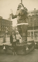 Santa Claus in Athens, Greece, December 30, 1961