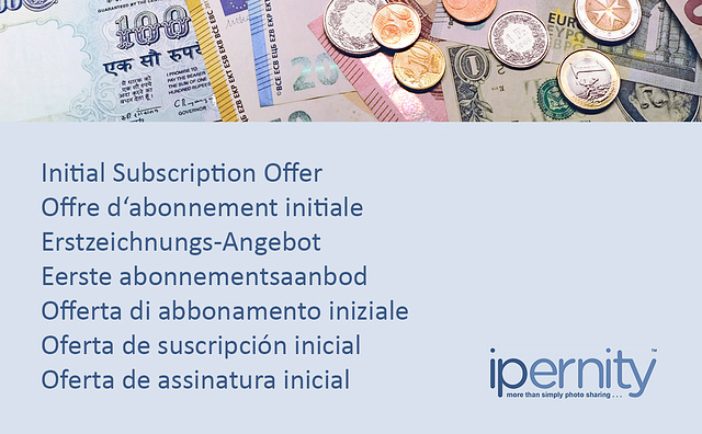 Initial Subscription Offer