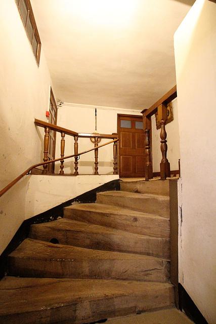 Service Staircase, Hardwick Hall, Derbyshire