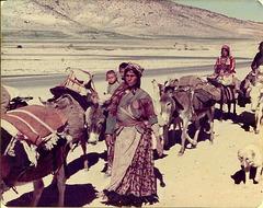 Qashqai women and children of Fars, Iran, 1977