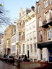 Various Dutch narrow buildings