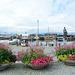 Norway, Trondheim, Excursion Pier and Sculpture of Den Siste Viking
