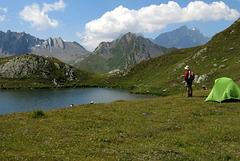 Au loin le Mont Blanc
