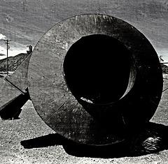 Sawdust cyclone