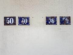 Berlin - House numbers / Hausnummern