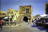 Rhodes Old Town a town square 1994