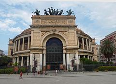 Garibaldi theatre Palermo Sicily