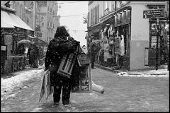 Montmartre sous la neige (III)