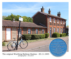 Old Worthing station from SW 14 5 2019 2kpx