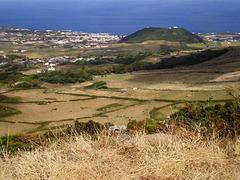 View from Facho Peak to Santa Cruz da Graciosa.