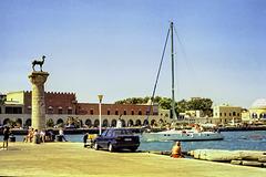 Rhodes Harbour 1994