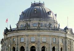 Das Bode-Museum in Berlin-Mitte...