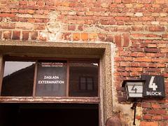 Auschwitz I - Block 4.