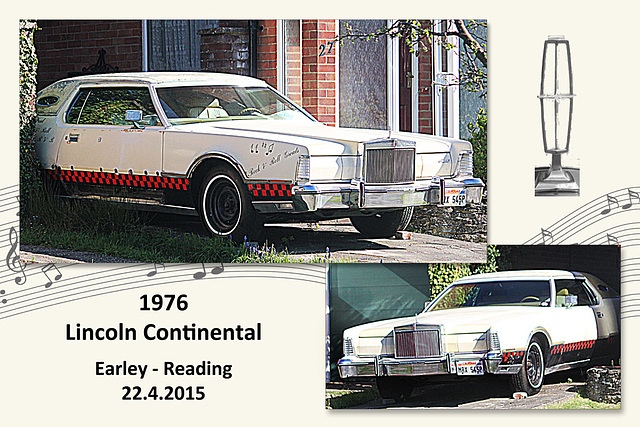 1976 Lincoln Continental - Reading - 22.4.2015