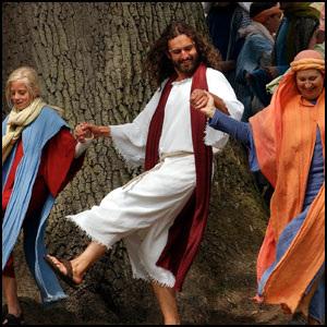 Jesuo faris sian unuan miraklon en Kana de Galileo