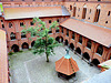 View of the courtyard in Malbork.