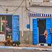 In a street of Sidi Ifni