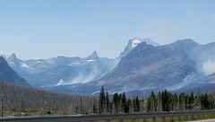Glacier NP St Mary fire (#0262)
