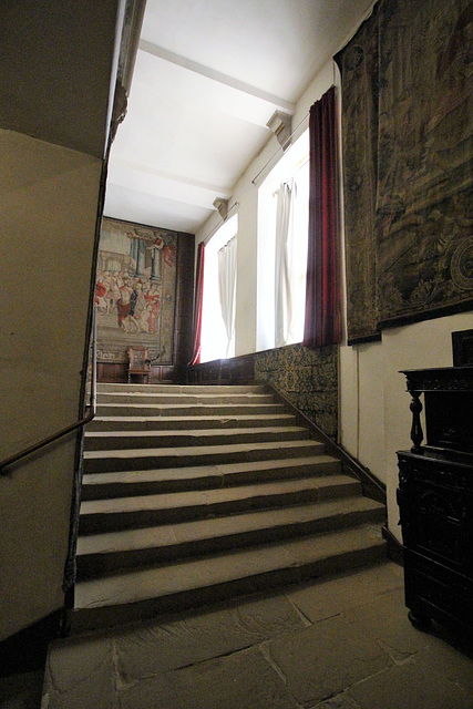 Staircase, Hardwick Hall, Derbyshire