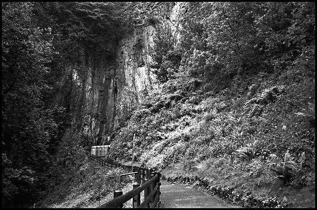 Gorge, Castleton, Derbyshire.