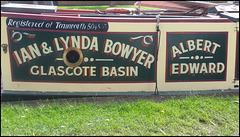 Albert Edward narrowboat