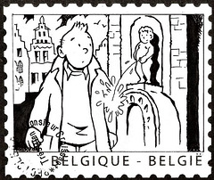 Tintin -  At home in Brussels!