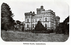 Lennox Castle, Dunbartonshire, Scotland (Burnt 2008 and now a ruin)
