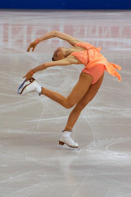 Skating with abandon