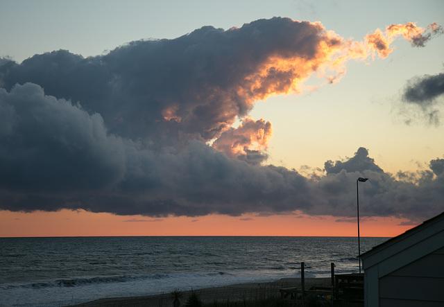 Cloud of fire