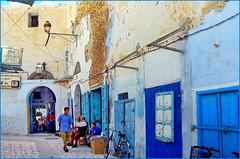 Kairouan : Un altro angolo di vita del centro storico