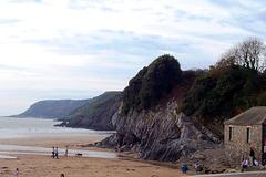 UK - Swansea - Three Cliffs Bay