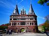Das Wahrzeichen der Stadt Lübeckb (PiP)