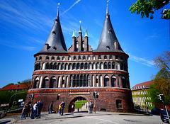 Das Wahrzeichen der Stadt Lübeck (PiP)