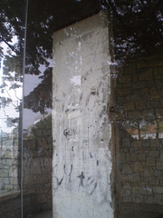 Section of the Berlin wall.