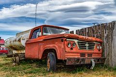 Dodge versus fence - HFF!