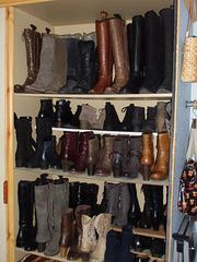 Der Schuhschrank meiner Frau