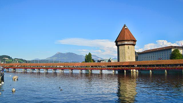Kapellbrücke Luzern Schweiz