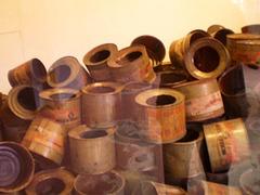Empty cans of Zyklon B.