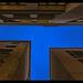 Geometria en azul.