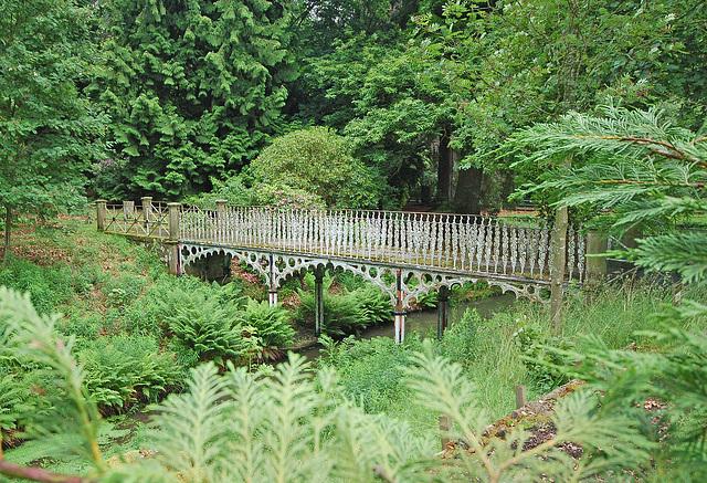 Iron Bridge, Stracathro House, Angus, Scotland