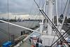 Hamburg 2019 – Cap San Diego – View of Hamburg from the bridge