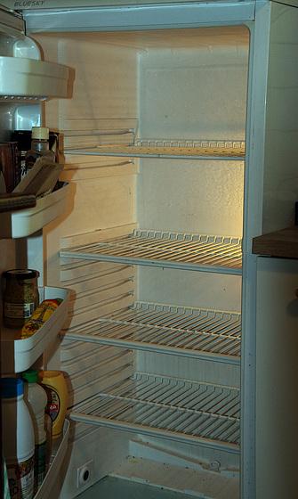 L'isolement commence à être pesant , je viens d'avoir une prise de bec avec mon frigo .