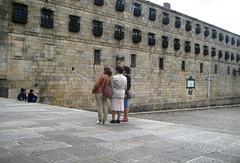Santiago de Compostela Spanien