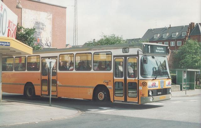 Esbjerg Bybusser 82 (LJ 97 038) - 4 June 1988 (Ref: 69-21)