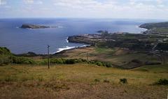 Beholding Praia and Praia Islet.