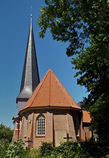 Die Kirche St. Nikolai in Borstel/ Jork