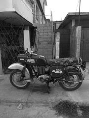The first MZ - ES250/2 (Cuba)