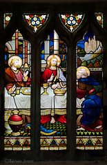 Shelve Church Stained Glass Window